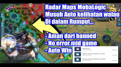 Download Script Radar Map Mobalogic + Drone View Patch badang