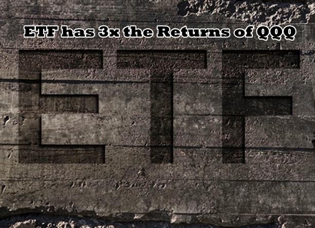 ETF has 3x the Returns of QQQ