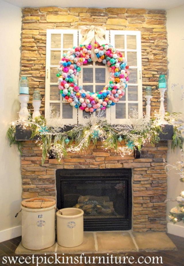 Corona de navidad para decorar