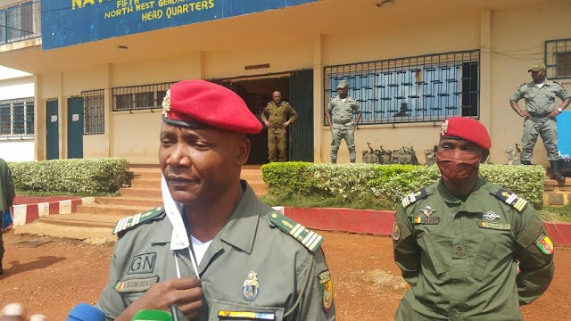 5th Gendermarie region: Col. Boum takes over as new Legion commander