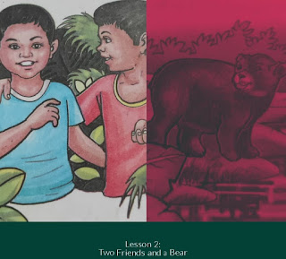 Lesson 2 | Two Friends and a bear | Class 3 | English | Questions Answers | SCERT ASSAM