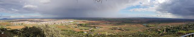 Vista desde el Mirador de la Mancha - Villarubia de los Ojos