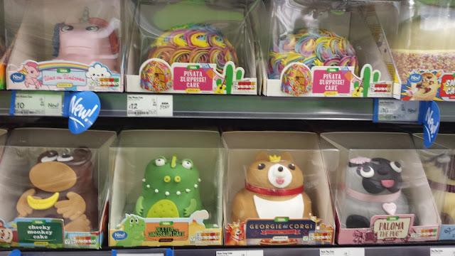 asda animal cakes