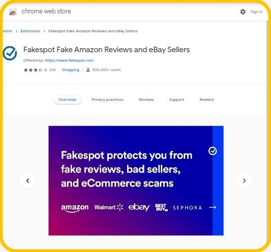 An exclusive service to verify fake reviews of products before shopping them in online stores