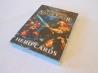 Warhammer Quest: Silver Tower hero cards box