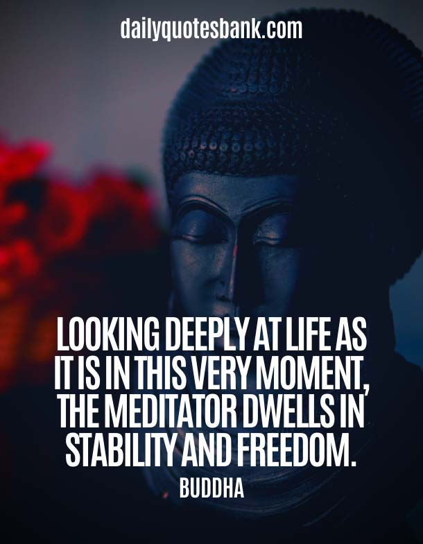 Buddha Quotes On Changing Yourself About Meditation