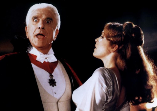 Leslie Nielsen in Dead and Loving It