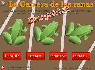 http://primerodecarlos.com/CUARTO_PRIMARIA/archivos/salta-ranas-ortografia.swf