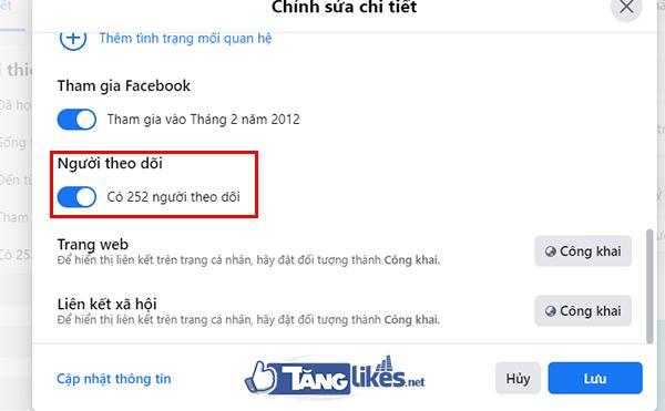 cach tang sub fb