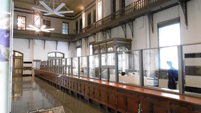 北海道 日本銀行旧小樽支店金融資料館の中