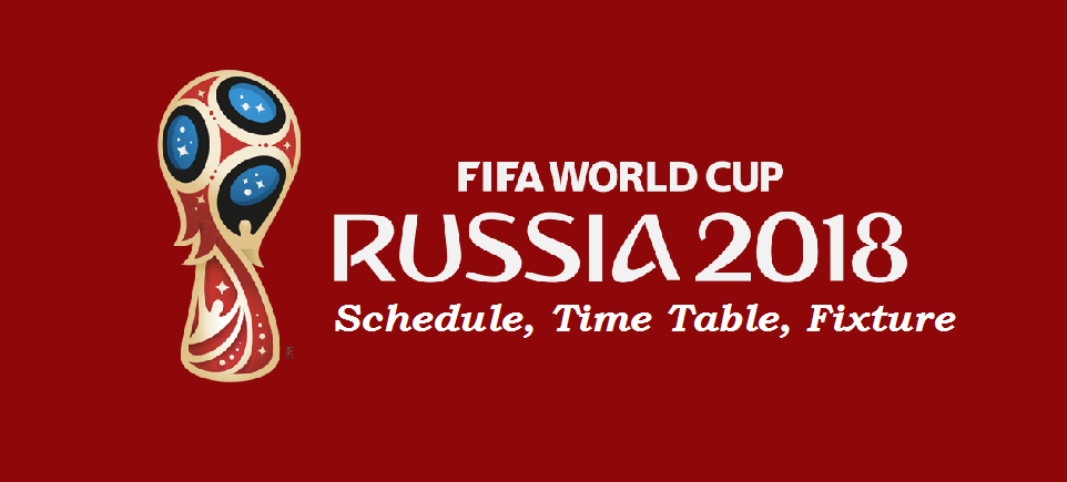 World Cup Schedule Pdf