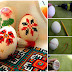 Embroidered Easter eggs | Instructions on how to do it and inspiration