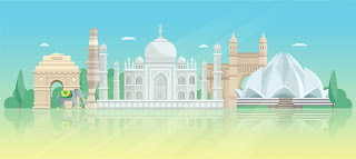 Most Indian Monuments in single picture.