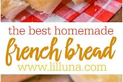 Recipe - Homemade French Bread
