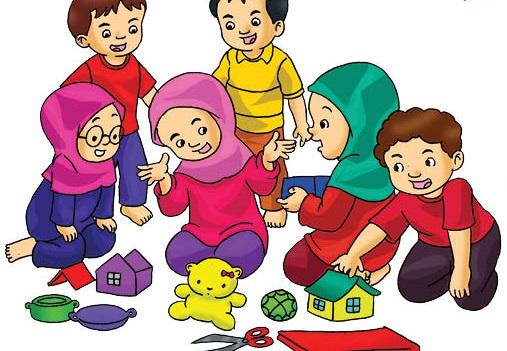 Mengajari Sopan Santun Sejak Dini Sambil Bermain Rumah - Rumahan.