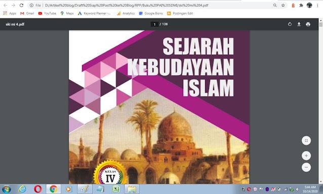 Buku Siswa SKI kelas 4 sesuai kma 183 tahun 2019