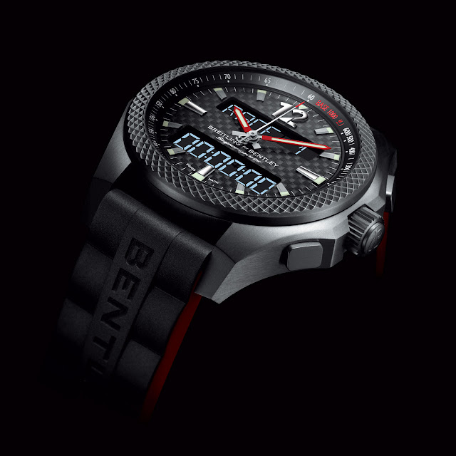Breitling for Bentley introduces Supersports B55 connected chronograph watch