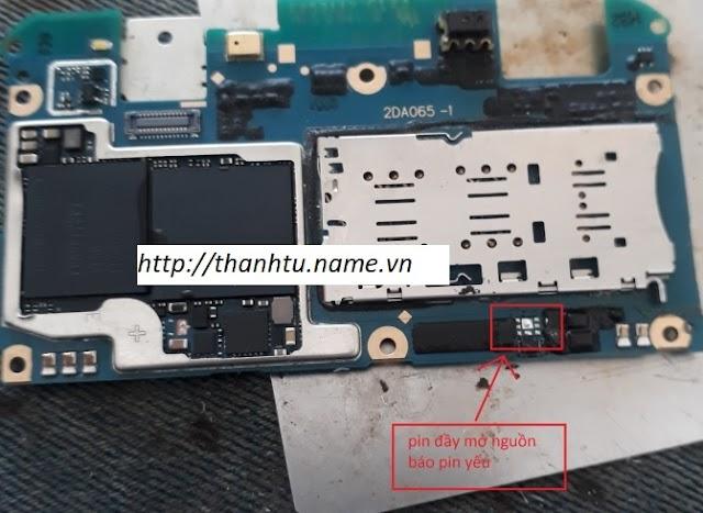 Oppo A59 báo pin yếu