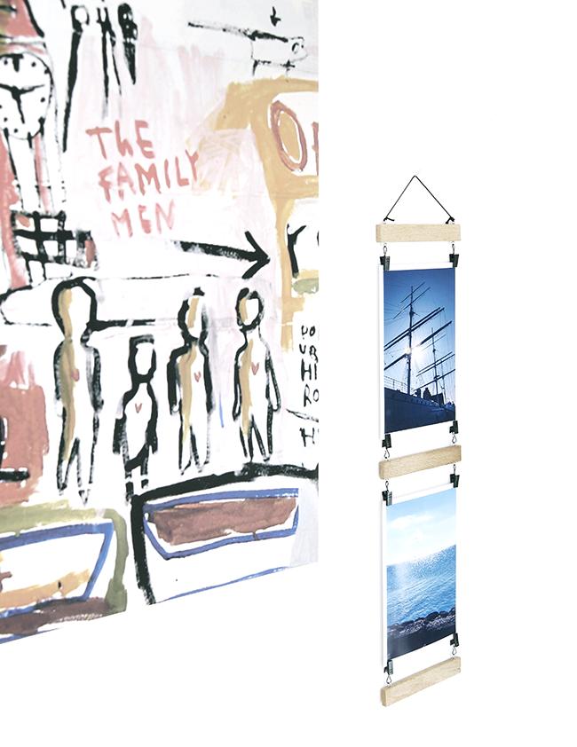Ynas Design Blog | DIY Holzrahmen | Fotos einfach einklemmen