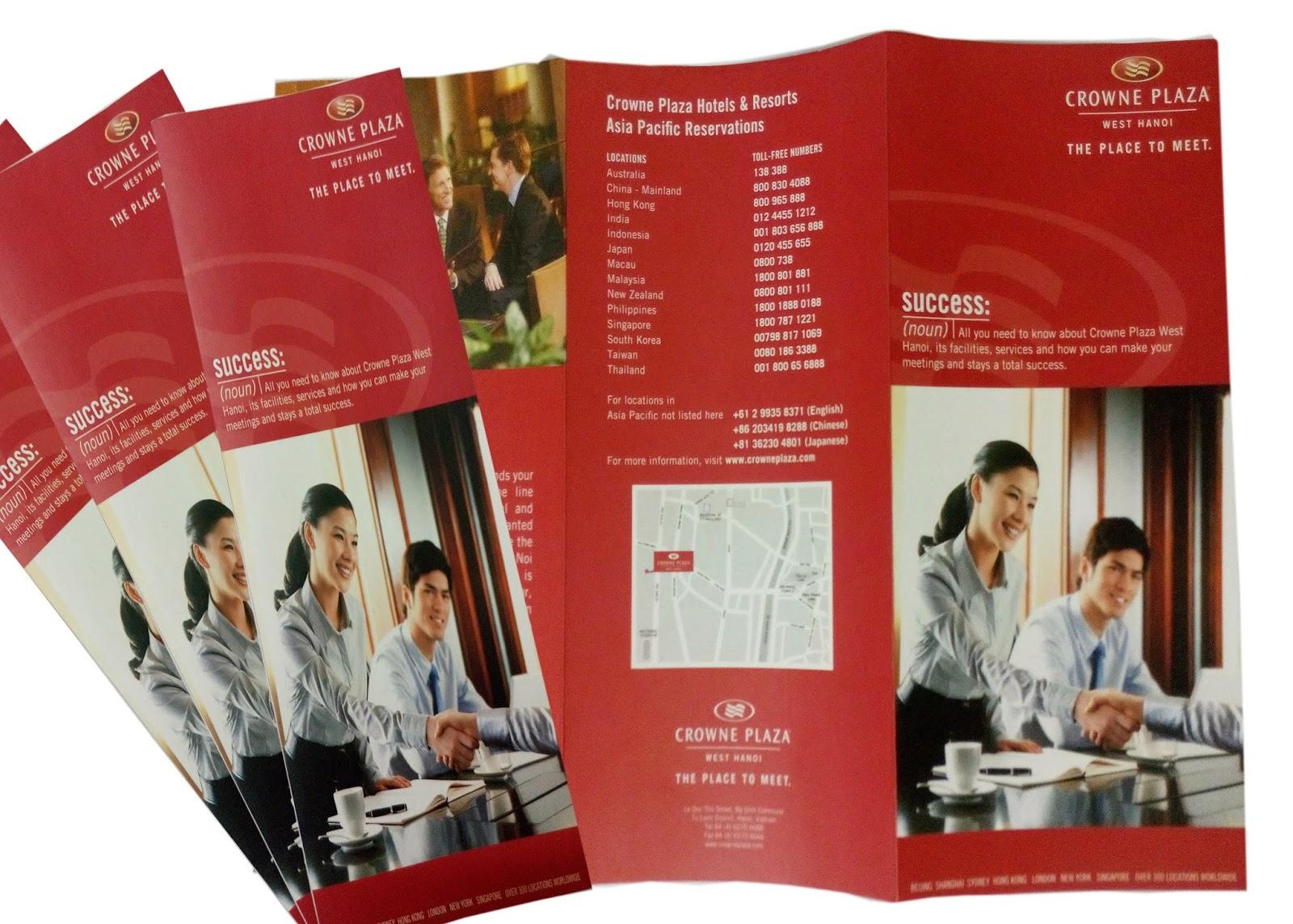 sản phảm của học viên khóa học thiết kế đồ họa in ấn tại VTD