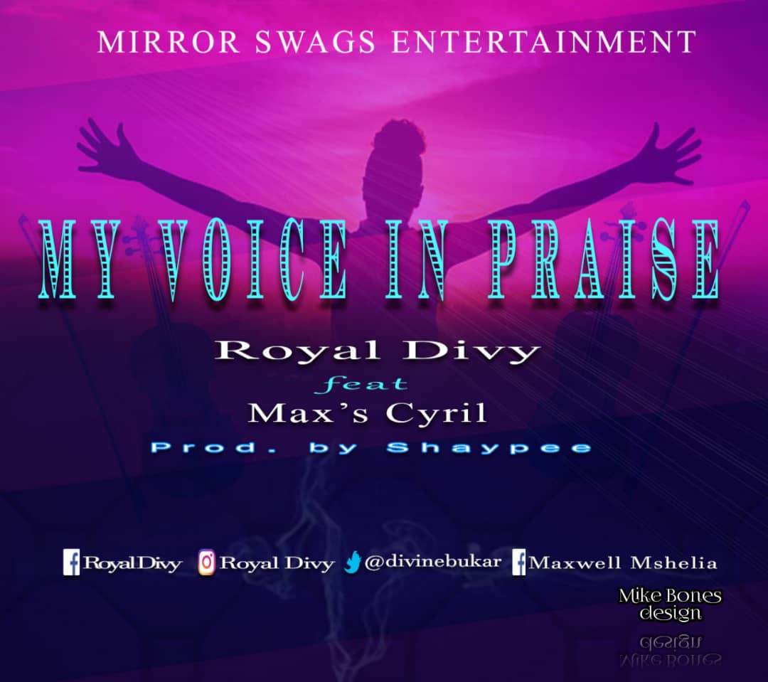 royal-divy-my-voice-in-praise-ft-max-cyril-art