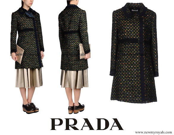 Crown Princess Mary wore Prada Coat