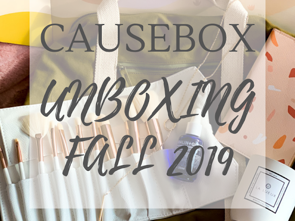 CAUSEBOX Unboxing {Fall 2019}