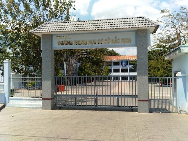 Trường Cấp 2 Hắc Dịch Phú Mỹ