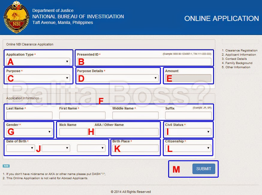 Image: How to Apply New 2014 NBI Clearance Online (Part 1)
