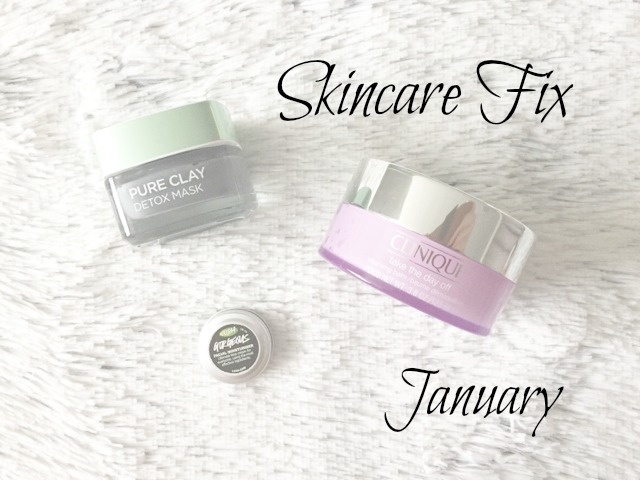 Current Skincare | January