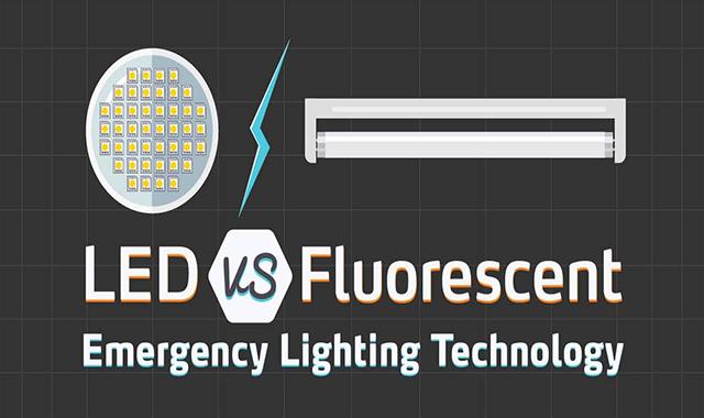 LED Vs Fluorescent Emergency Lighting Technology