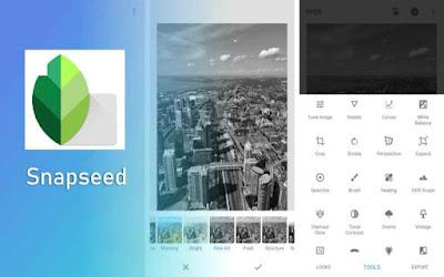 Snapseed aplikasi edit foto terbaik