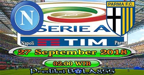 Prediksi Bola855 Napoli vs Parma 27 September 2018