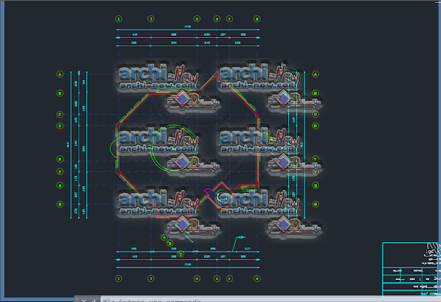Download AutoCAD CAD dwg viewer online file Mosque of the seven ribs