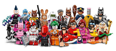lego minifigure series - the lego batman movie