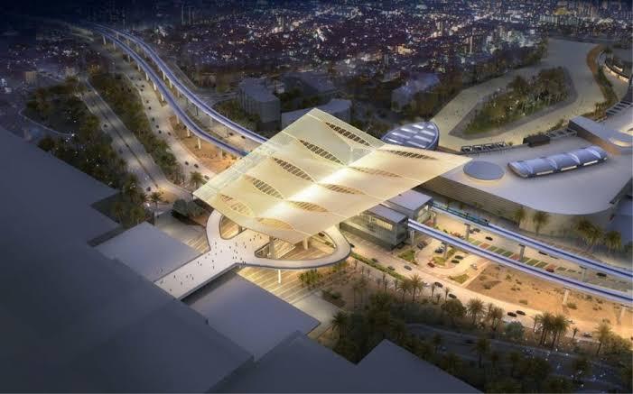 Expo 2020 Dubai Metro Station