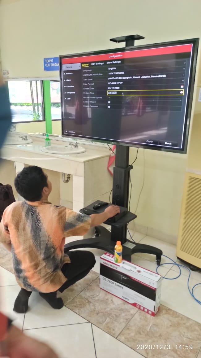 Konfigurasi System CCTV di PT Solusi Bangun Indonesia Tbk
