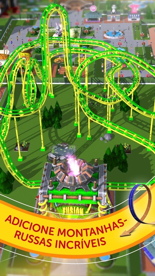 RollerCoaster Tycoon Touch APK MOD Compras Grátis 2021 v 3.20.34