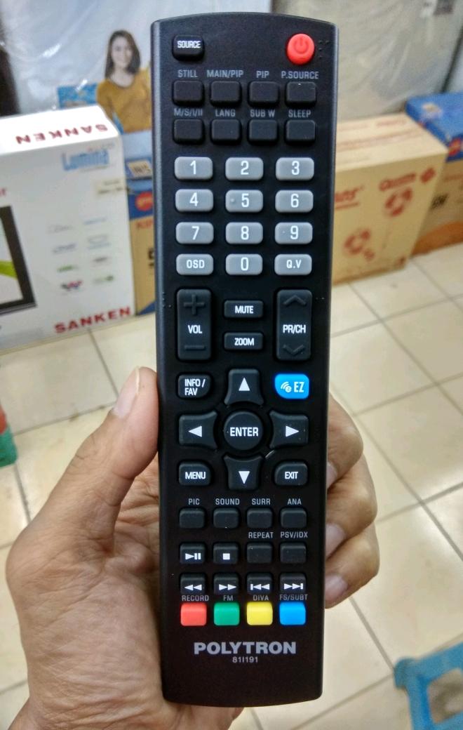 Cara Mencari Channel atau Saluran TV LED Polytron