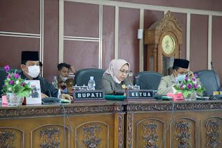 Pjs Bupati Labuhanbatu Bacakan Pengantar Nota Keuangan Ranperda APBD TA 2021