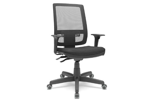 Cadeira de Escritório Brizza braços 3D Plaxmetal