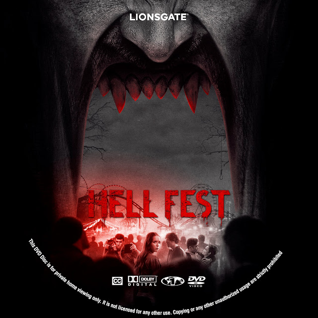 Hell Fest Label Cover