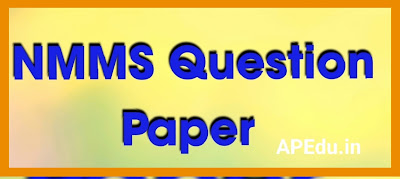 NMMS Question Paper (28.02.2021, Andhra Pradesh)