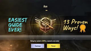 How to Reach ACE Tier in PUBG Mobile! Easiest Guide Ever.