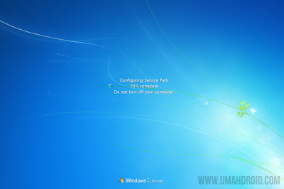 Configuring Service Pack Windows 7