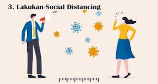 Lakukan Social Distancing saat bekerja dikantor ditengah Wabah Virus Corona