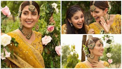 Ayeza Khan Looks Dreamy Girl in her Bridal Photo Shoot