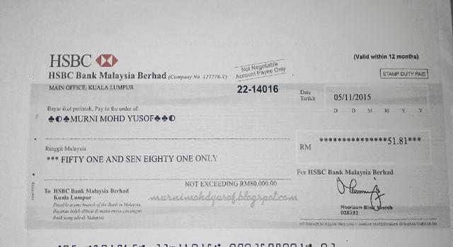 Cek Pertama Daripada Nuffnang Malaysia