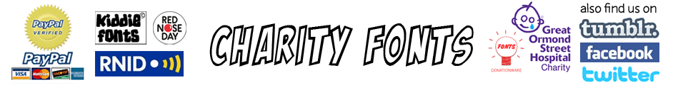 CharityFonts