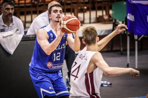 Εθνική Παίδων: Λετονία-Ελλάδα 64-73